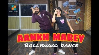 SIMMBA - Aankh Marey Dance Choreography video | Ankh Marey Dance Performance