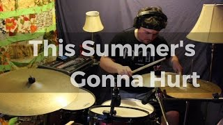 Maroon 5 - This Summer's Gonna Hurt - DRUM COVER