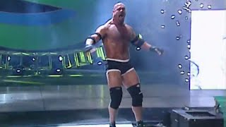 Goldberg briefly stumbles: SummerSlam 2003