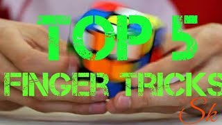 How to LEARN TOP '5'Finger TRICKS to Solve Rubik's Cube.(NEW)|TOP 5 FINGER TRICK TO IMPRESS ANYONE.