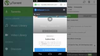 Торрент для Андроид - обзор µTorrent