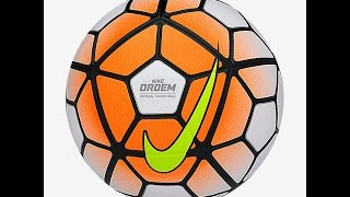 Unboxing the New Nike Ordem 3 Soccer Ball Premier League Official Match Ball