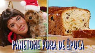 PANETONE COM MASSA DE BRIOCHE FOFINHO | RAIZA COSTA