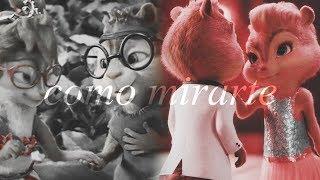 Alvin x Brittany ♥ Simon x Jeanette - Como Mirarte (Alvin y las ardillas)