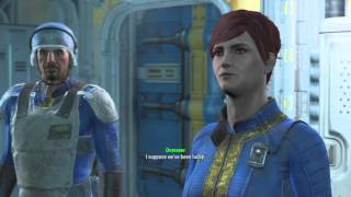 Fallout 4 - Meeting the Overseer of Vault 81