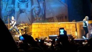 Iron Maiden-Live in Belgrade 10.2. 2009 (Wasted Years)