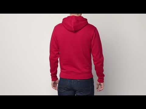 YouTube Men's Authentic Hooded Sweat