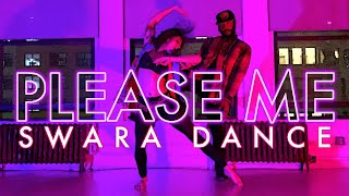 Cardi B & Bruno Mars - Please Me | Bollywood Dance Fusion | Swara Dance Choreography