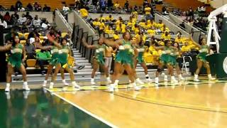 norfolk state university a-squad cheerleaders 2010-2011