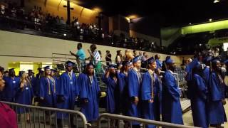 Mainland High School graduation entrance 2016