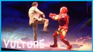 Marvel Universe Live! Exclusive Footage