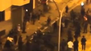 22/07/2013 - Quem atirou o primeiro Molotov? Eu acho que foi um P2!!! VERSÃO COM SETAS