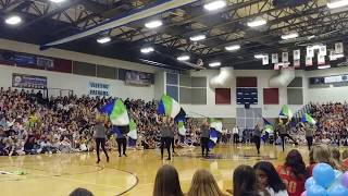 """""""Never going back"""" -The Score. Colorguard performance"""
