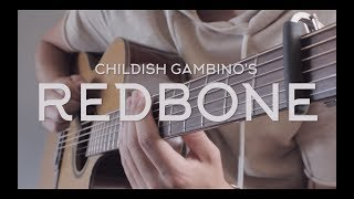 Childish Gambino - Redbone // Fingerstyle Guitar Cover - Dax Andreas (FREE TAB)