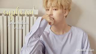 BTS EUPHORIA Jimin Hidden Vocals