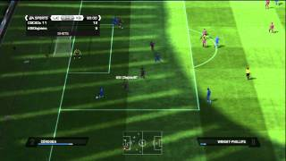 FIFA 11 Skill Tutorials | The Ronaldo Chop