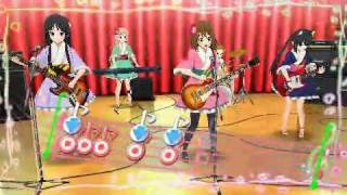 K-ON! Houkago Live!! Fuwa Fuwa Time (Hirasawa Yui) Hard + Secret Score (no miss clear)