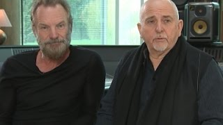 Sting and Peter Gabriel Hit the Road