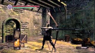 Dark Souls Dragonslayer Greatbow and Silver Knight Showcase!