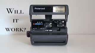 Testing a Polaroid close up 636, will it work?