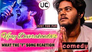 "What The ""F"" Song (comedy) Reaction