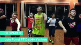 Despacito/Luis Fonsi FT Daddy Yankee Zumba Fitness Choreo