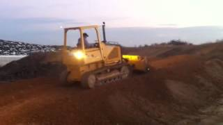 Mike on the dozer