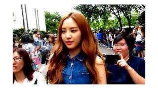 [Fancam] - 150626 - Apink - EXID - KARA - CLC - KBS Music Bank