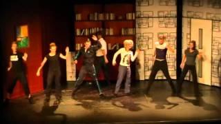 "Muzikál ""Ať žije rokenrol!"" - ukázka choreografie (L. Vondráčková a T. Löbl)"