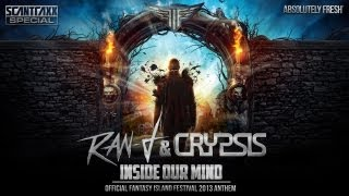 Ran-D & Crypsis - Inside our mind (Official Fantasy Island 2013 anthem)