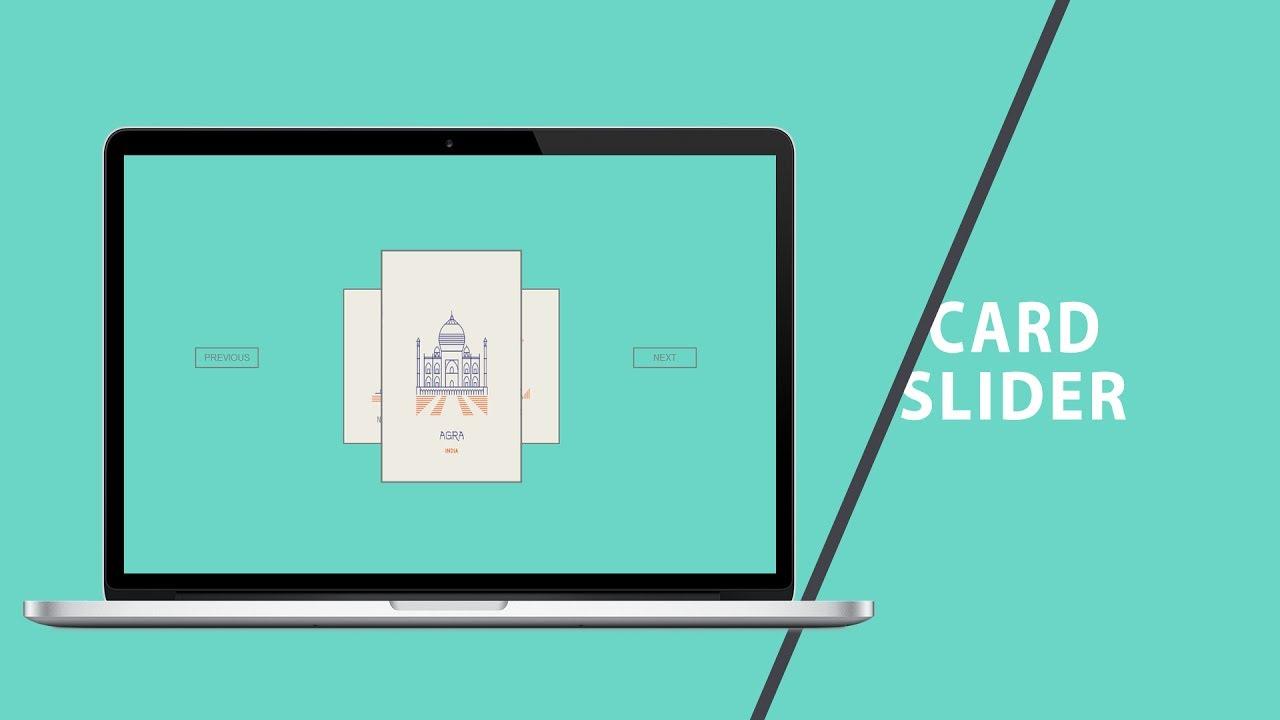 Card Slider | CSS - JQUERY Tutorial