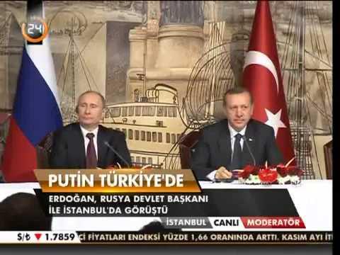 Putin - Başbakan Erdoğan basin toplantisi