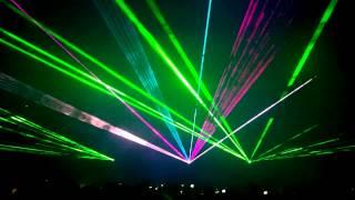 DNI I NOCE KRZYWEJ WIEŻY w Ząbkowicach Śląskich - pokaz laserów