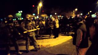 Getting beaten by APD for a peaceful demonstration