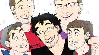 [Speedpaint] PAX East Crew - Jacksepticeye, Lordminion777, Markiplier, Muyskerm + Yamimash