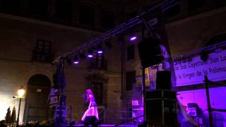 Jeanette - Frente a Frente (Plaza de La Paja 14-08-2014)