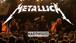 Metallica - HARDWIRED Live from The House of Vans, London Nov 18th 2016 HD