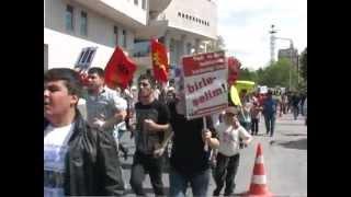 KAYSERİ'DE COŞKULU 1 MAYIS