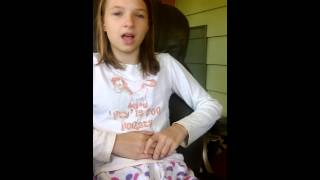 Girl  singing love me like you do