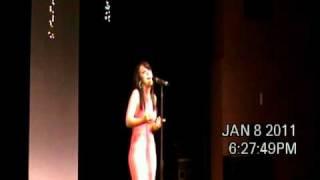 Kellie Mills I Am Changing Las Vegas 1/8/10
