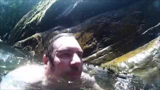 Cachoeira Vila da Glória - começando bem o ano.