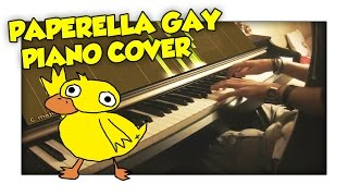 PAPERELLA GAY - SpJockey (Piano Cover) - By Crypto