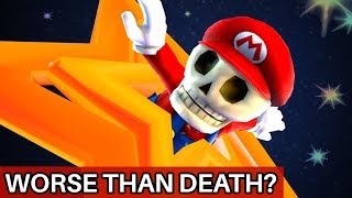 The Launch Star That Grants a Fate Worse Than Death in Super Mario Galaxy