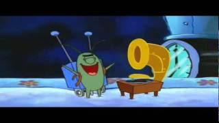 Plankton laughs at the wrong music