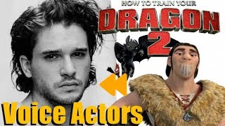 """How to Train your Dragon 2"" Voice Actors and Characters"