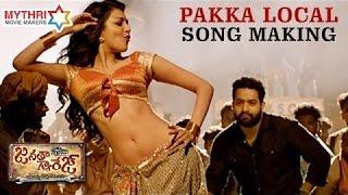 Pakka Local Video Song Making |