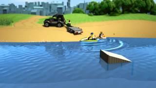 SUV with Watercraft - LEGO City - 60058