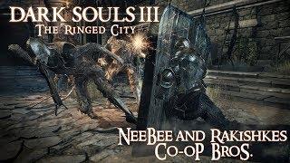 Dark Souls 3 The Ringed City весёлый кооп))) [#2]