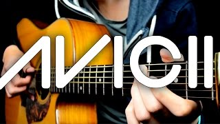 Hey Brother - Avicii (Solo Acoustic Guitar) Eddie van der Meer
