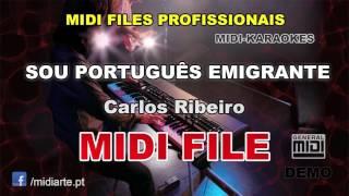 ♬ Midi file  - SOU PORTUGUÊS EMIGRANTE - Carlos Ribeiro